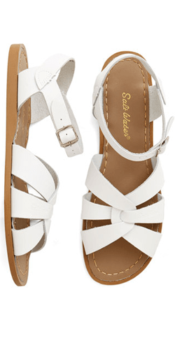 Outer Bank on It Sandal in White